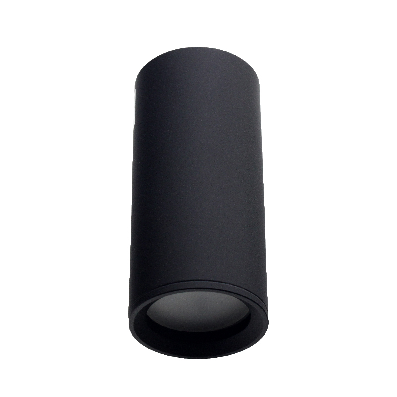 Светильник потолочный направленный модульный черный