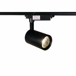LED світильник трековий 20W чорний 4100K 1600Lm
