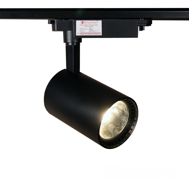LED светильник трековый 30W черный EH-TL-0006